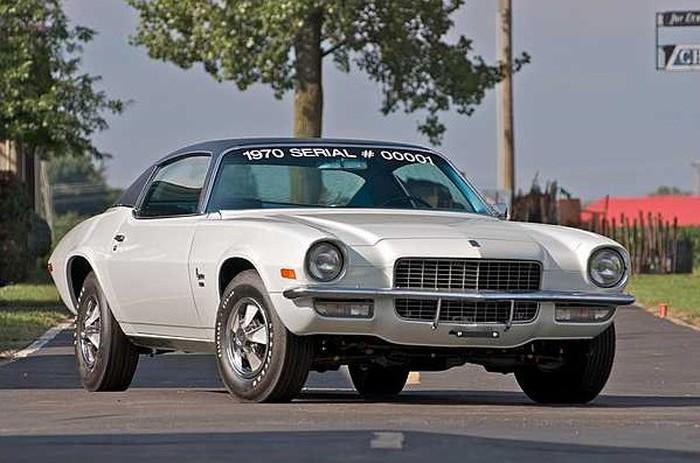 1970 Camaro Número 01