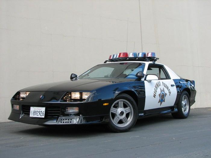 1992-camaro de Policia