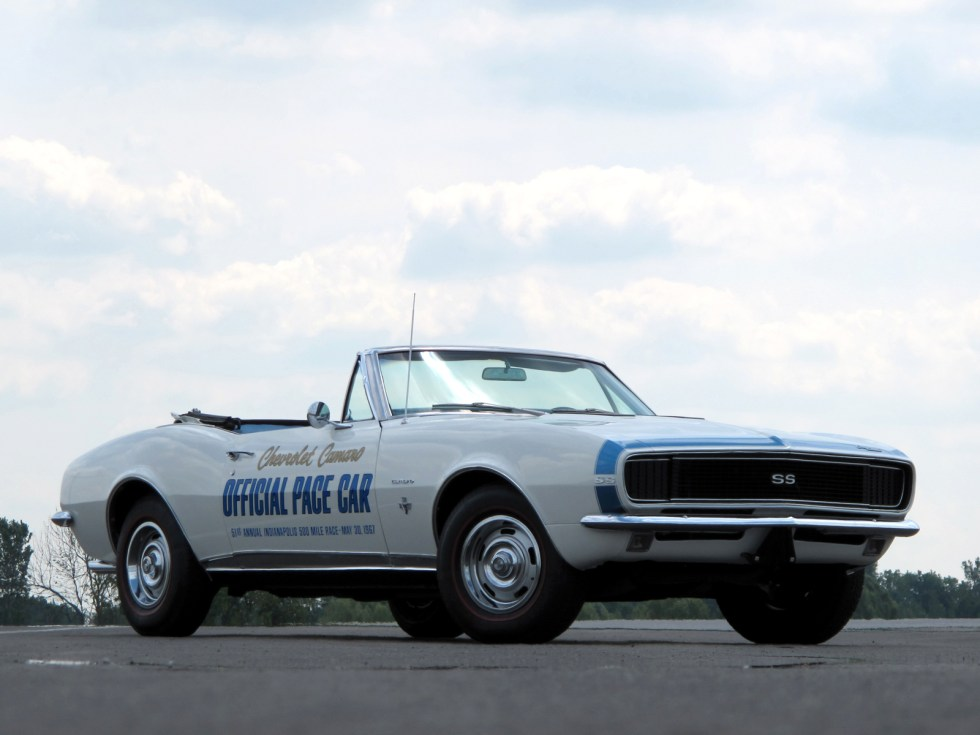 1967 Chevrolet-Camaro-SS-Convertible-Indy-500-Pace-Car