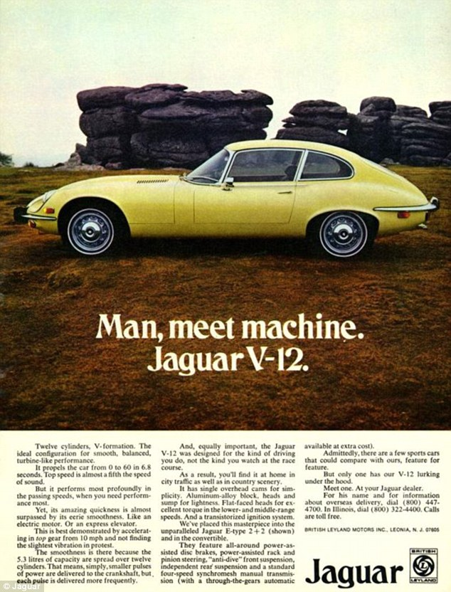 Jaguar E-type V12 article-