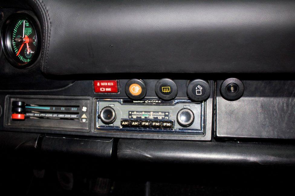 Porsche 911 radio Becker