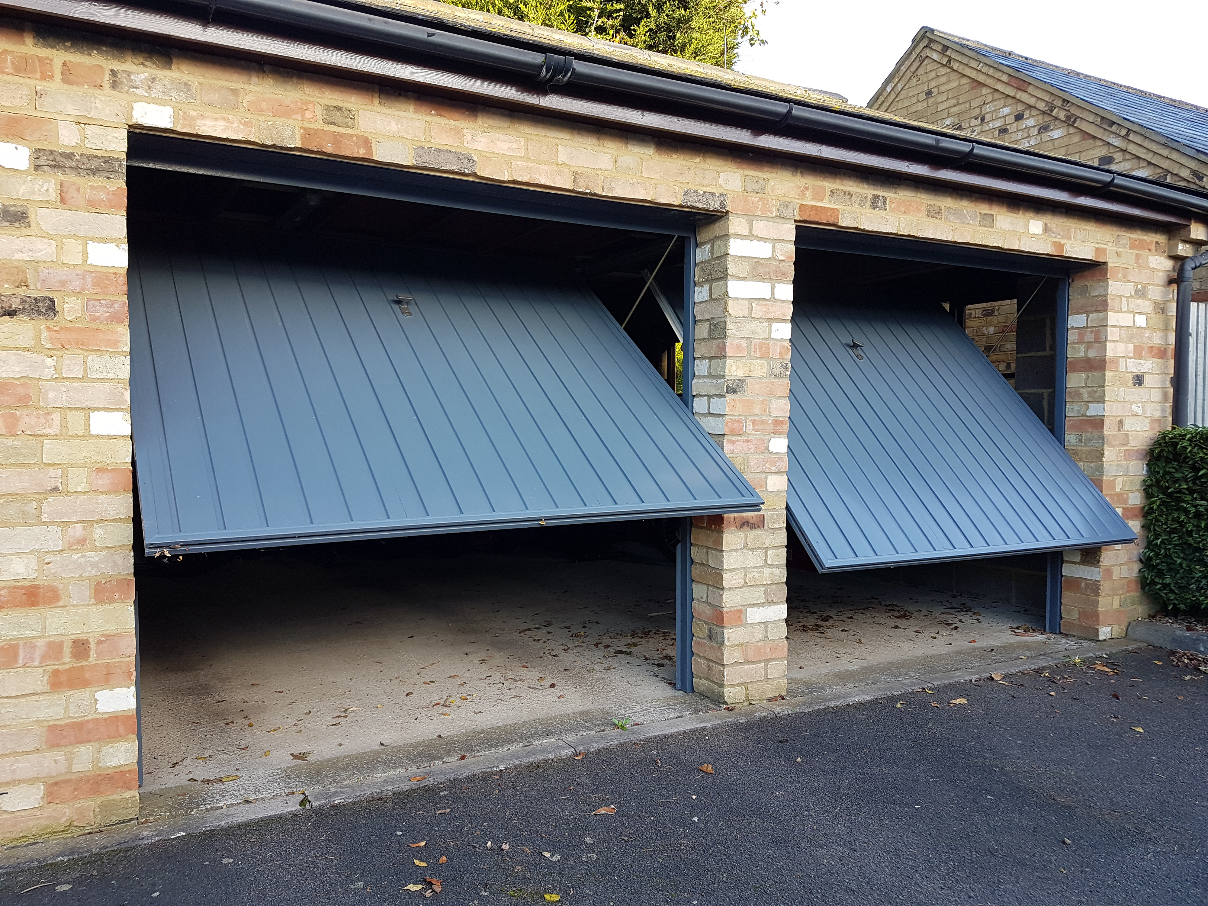 Garage Door Sizes And Measurements Up And Over Sectional