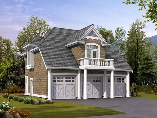 Carriage House Garage Plans