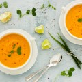 Fresh Ginger Carrot Soup