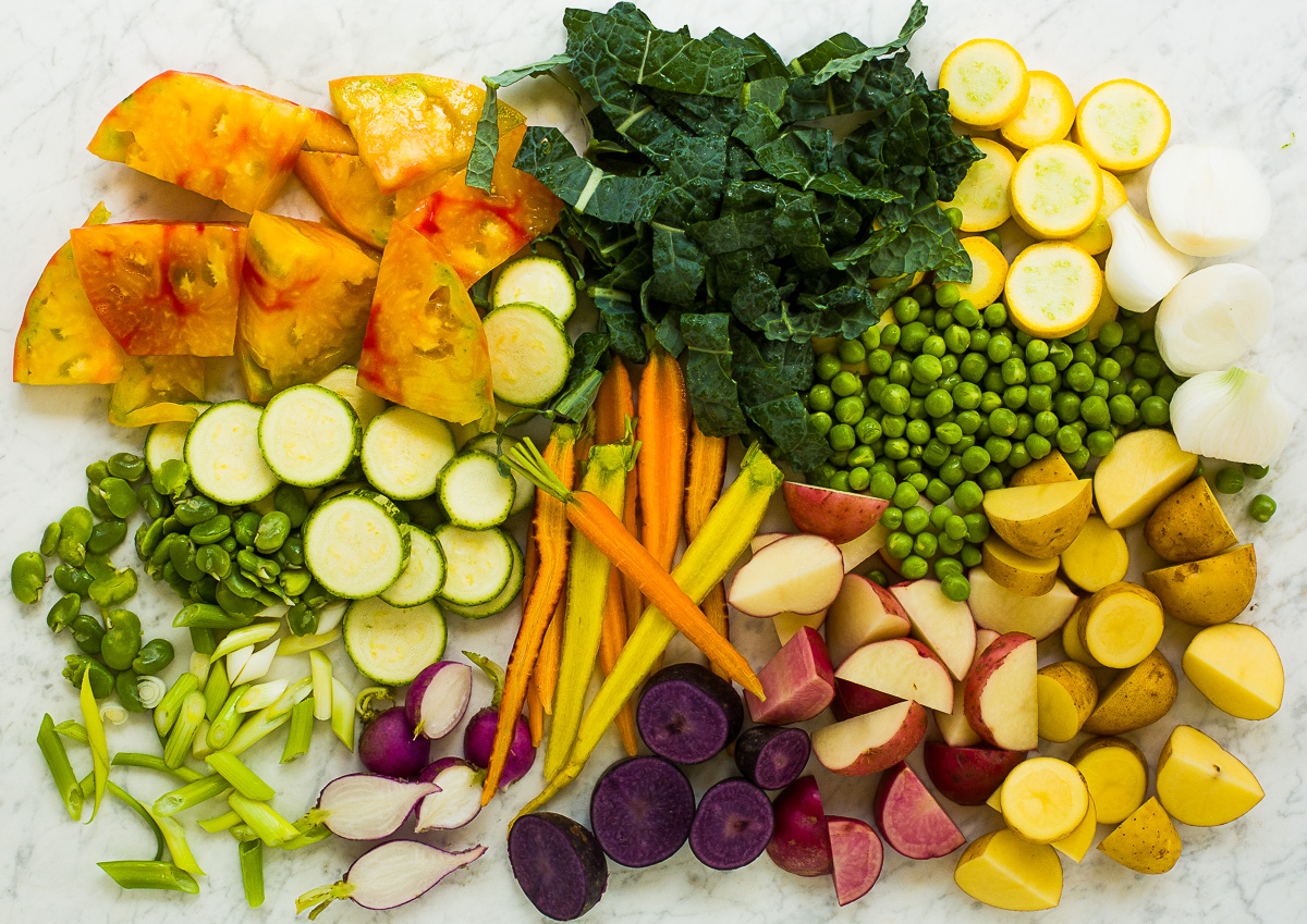 Vegetables for Stew