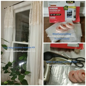 Winterize your Home-Using Plastic Window Insulation Kits