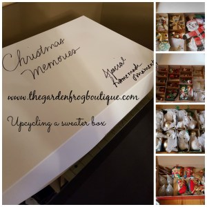 Create Ornament Storage from Upcycled Gift and Shoe Boxes