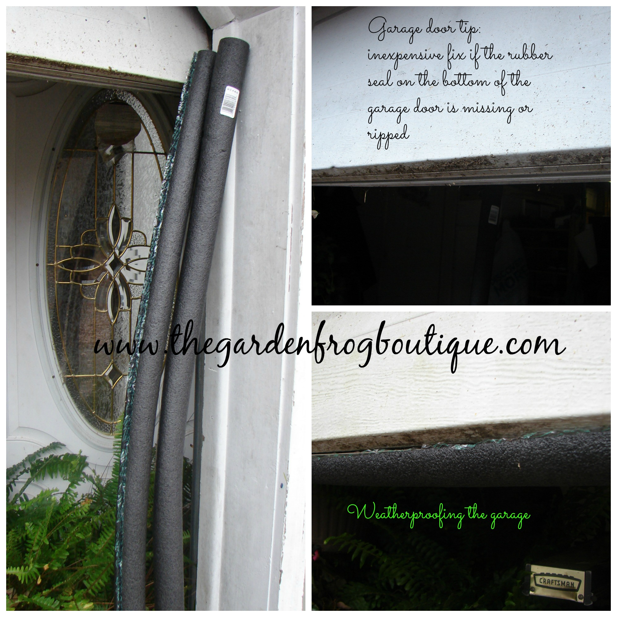 Garage Tip A Simple Fix For The Bottom Garage Door Seal The