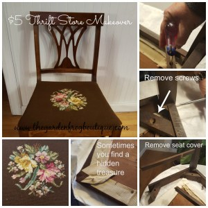 Don't Paint that Dining Room Chair-Restore It