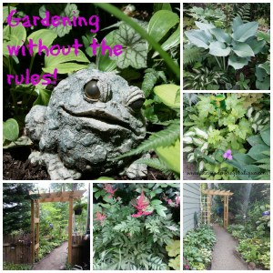 Gardening without the rules, my philosophy on life in the garden