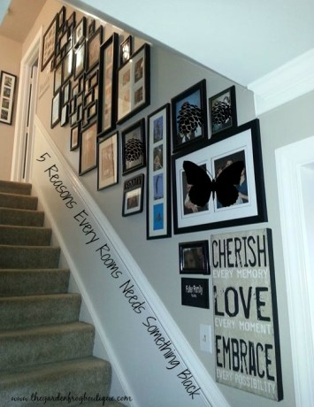 5 reasons why every room needs something black
