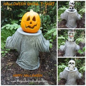 Easy Concrete Halloween Garden Statue Tutorial