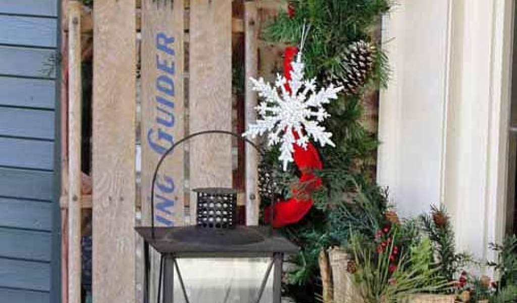 Homemade Outdoor Christmas Decoration Ideas Home Garden