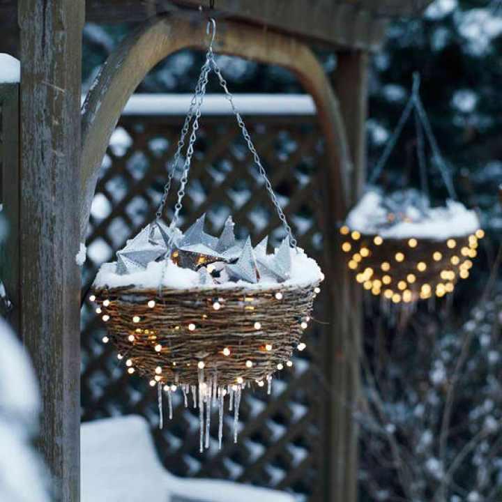 Buitenleven | De mooiste kerstverlichting voor tuin of balkon - Woonblog StijlvolStyling.com