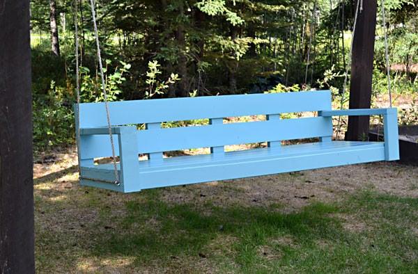 swing bench diy