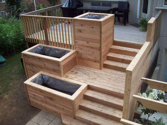 Planter Ideas Diy Decks