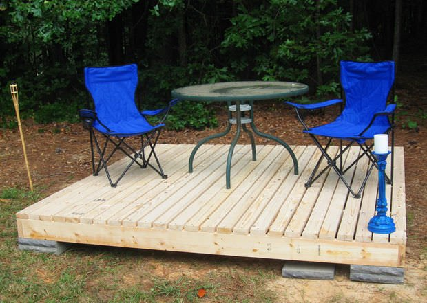to build a fabulous diy floating deck