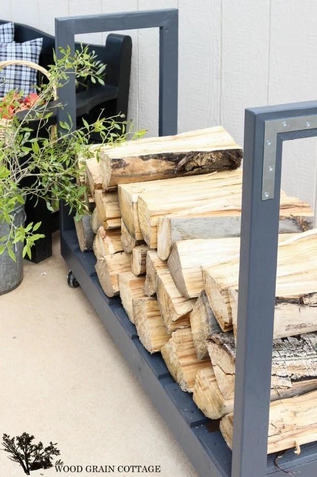 Super easy DIY firewood racks-4