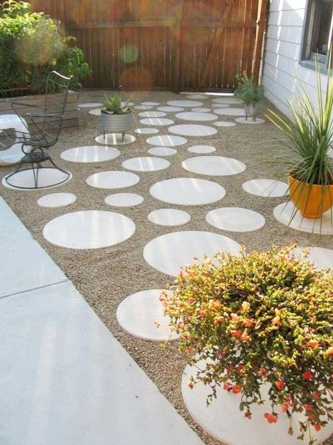 9 diy cool creative patio flooring