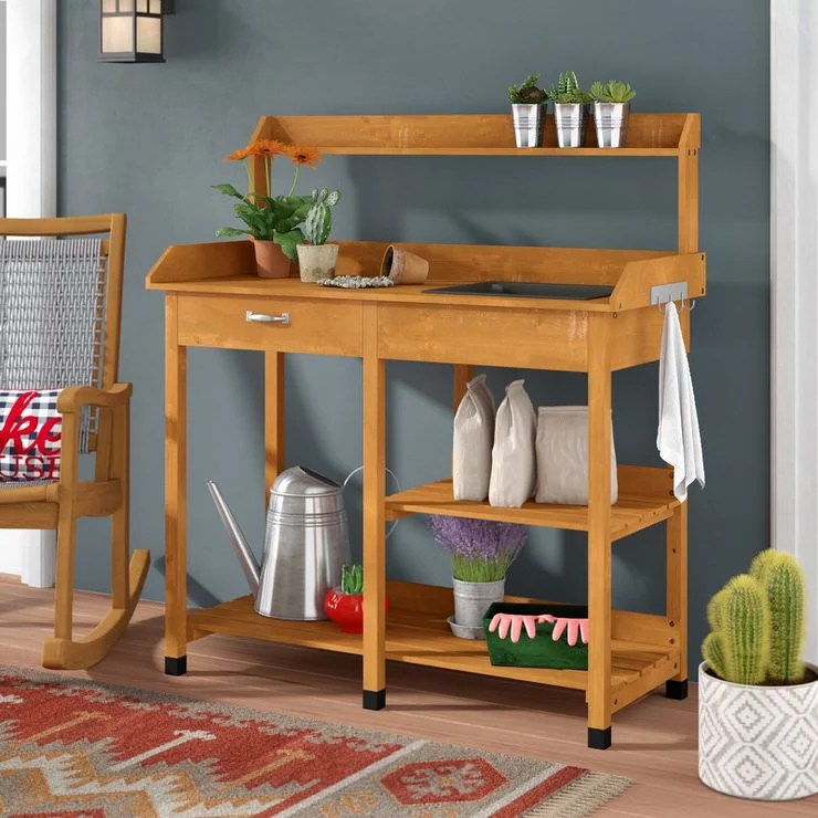 18 diy potting benches you ll want to