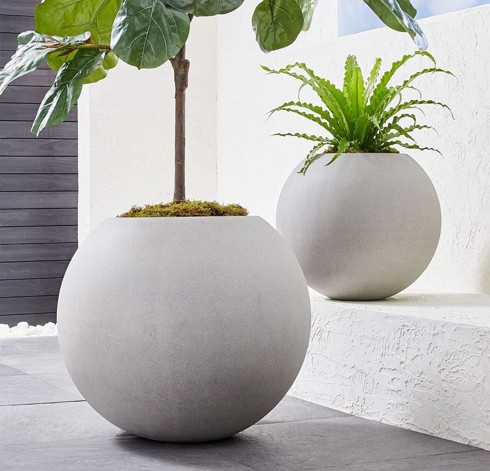 buy concrete planter pots online