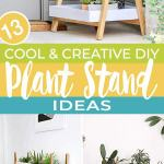 13 Cool Creative Diy Plant Stand Ideas The Garden Glove