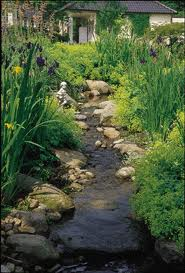 Water Gardening Streams Rills And Channels The