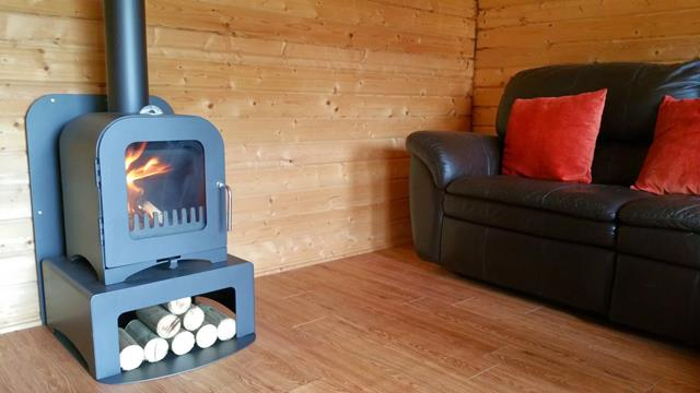 Stove installed in Summerhouse and Logcabin