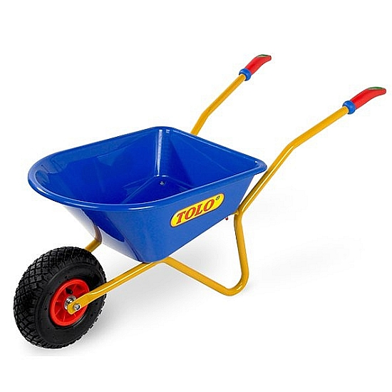 Farm Toys Online - Blue Childrens Tolo Wheelbarrow