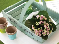 Personalised Garden Trug