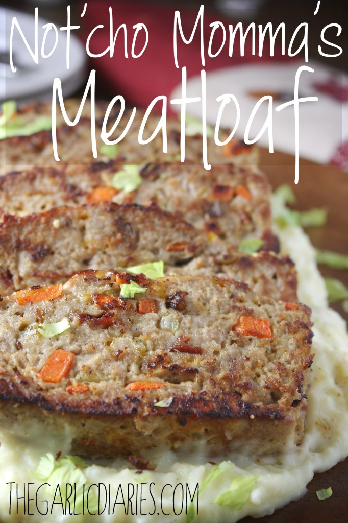 Not'cho Momma's Meatloaf -- TheGarlicDiaries.com