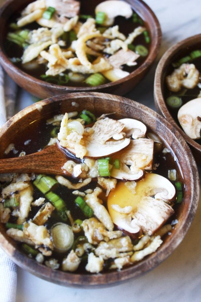 IMG_Hibachi Soup with Mushrooms and Crispy Onions -- TheGarlicDiaries.com
