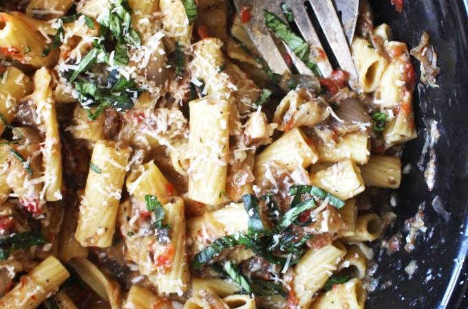 Easy Crock-Pot Italian Pasta