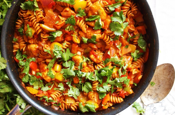 One Pot Mexican Pasta Skillet