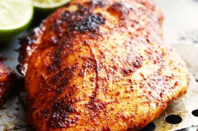 Baked Chili Lime Chicken Breasts