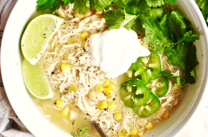 Crock Pot White Chicken Chili
