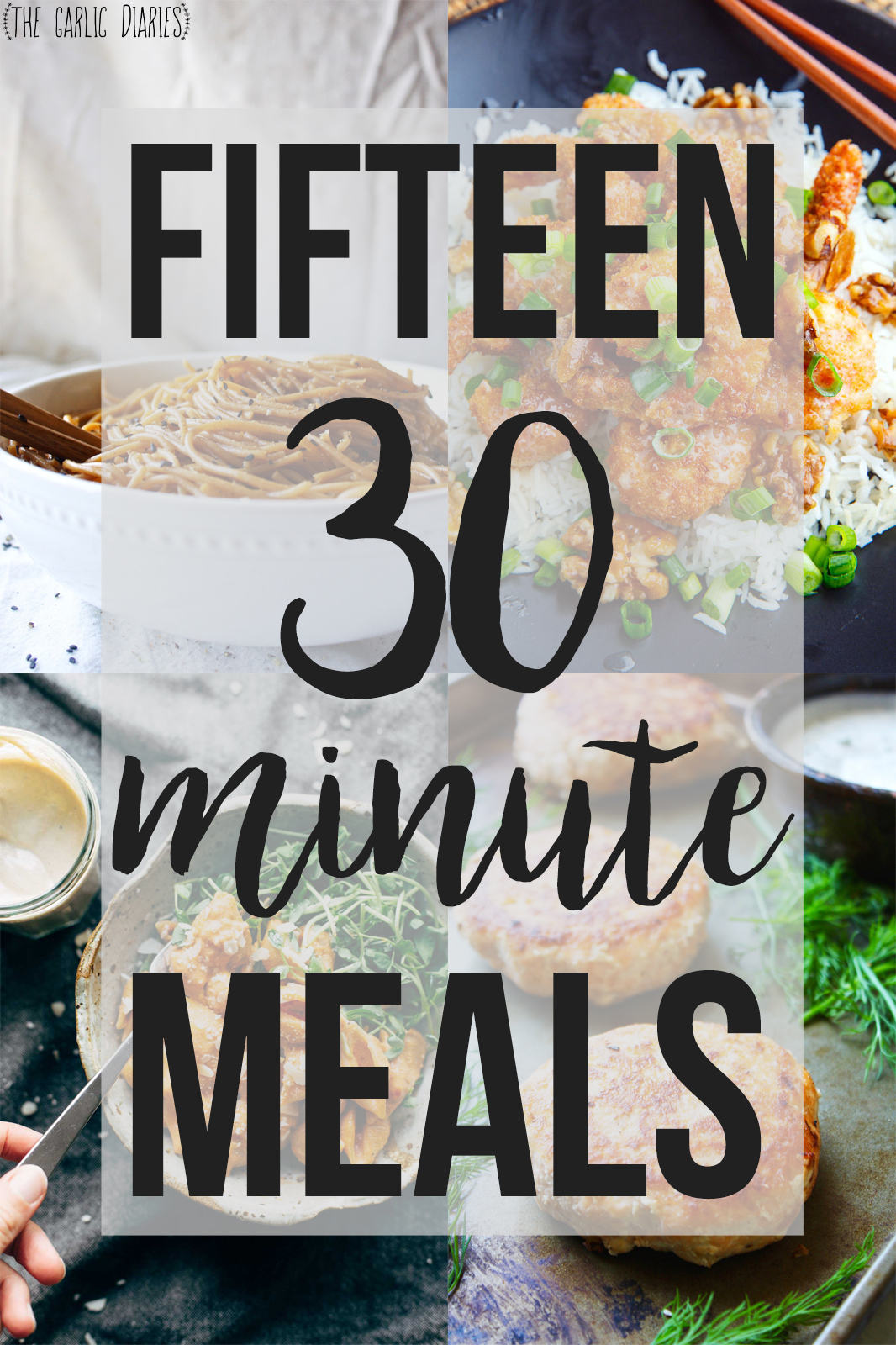 Fifteen quick and simple 30 minute meals even those of us that love love looooove cooking are fans of 30 minute meals meals that are that quick and easy but still pack so much flavor and sisterspd