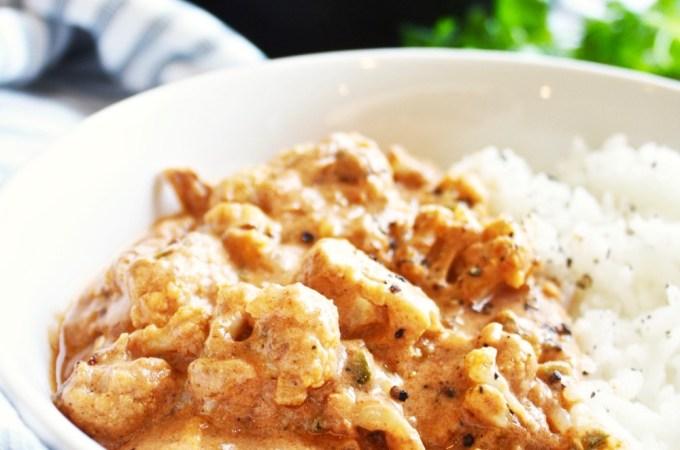 Roasted Cauliflower Tikka Masala