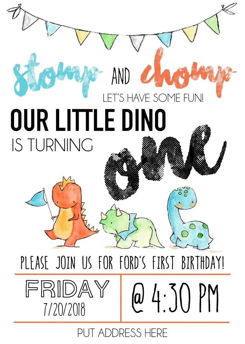 Fords Dino Birthday Bash
