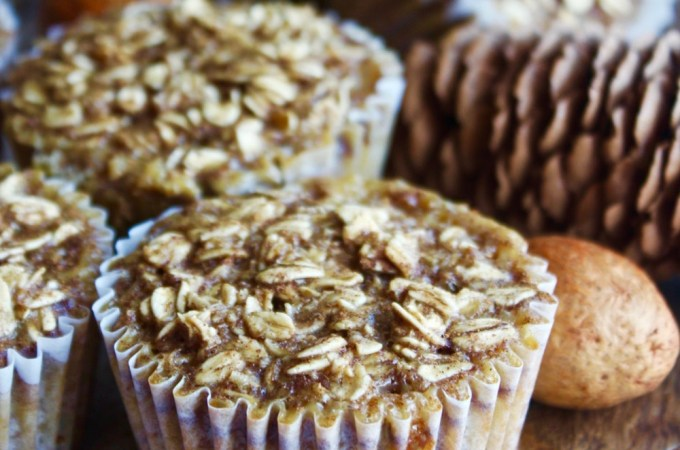 Maple Cinnamon Baked Oatmeal Cups