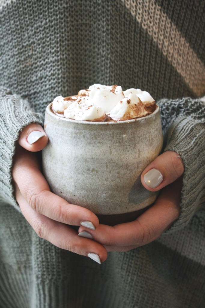 Dairy Free 5 Minute Hot Cocoa - THE BEST dairy free hot cocoa in the world! It's rich, it's soooo chocolatey, and it tastes zero percent like it's dairy free - you'll never know the difference!