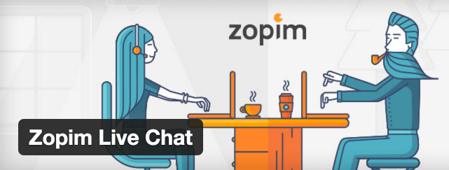 Zopim Live Chat插件。