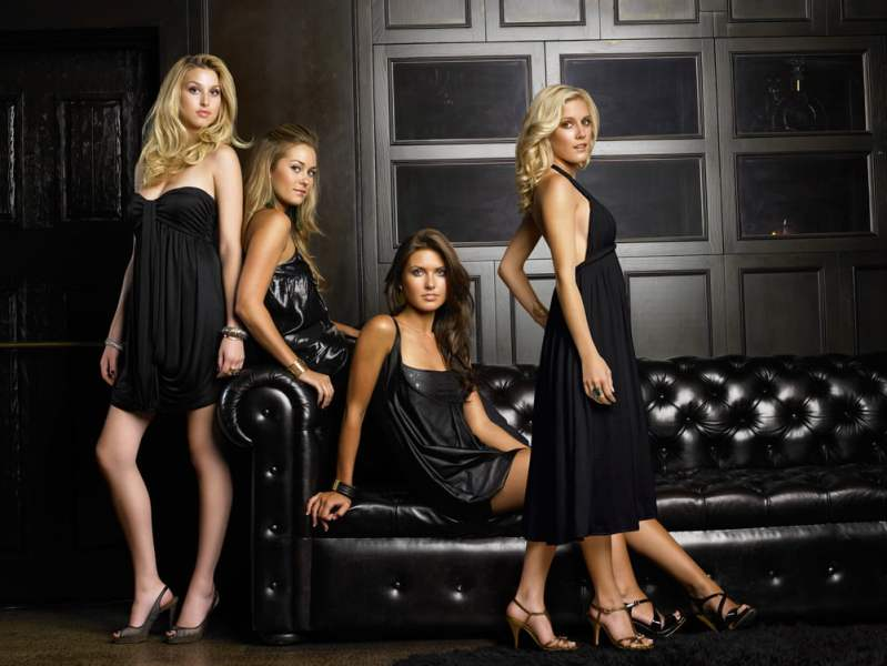 The ladies of The Hills, Season 3
