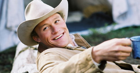 Heath Ledger - Brokeback Mountain