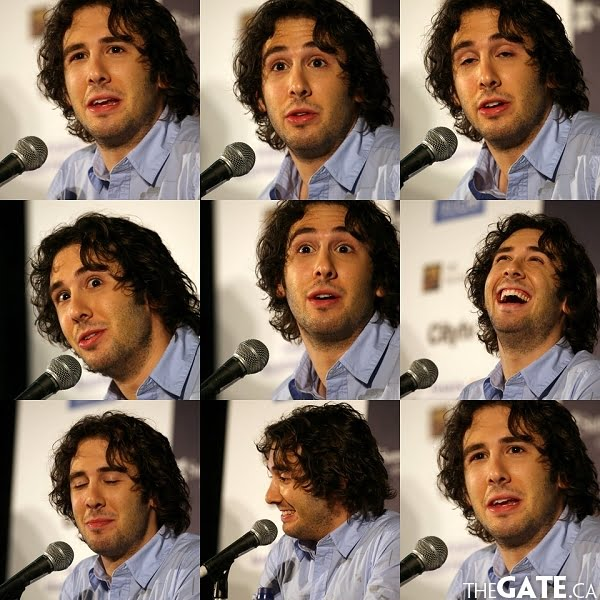The Many Faces of Josh Groban