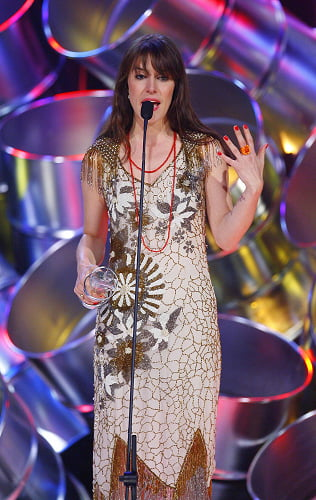 Feist at the 2008 Junos
