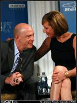 J.K. Simmons and Allison Janney