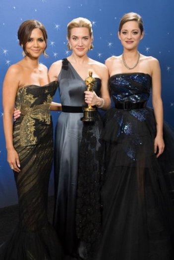 Halle Berry, Kate Winslet & Marion Cotillard