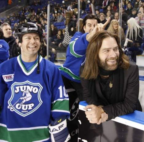 Juno Cup: Alan Doyle and Steve Dawson