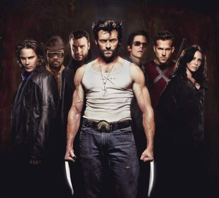 The cast of X-Men Origins: Wolverine